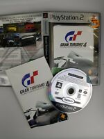 Gran Turismo 4 PS2 (Platinum) PAL - Complete with manual