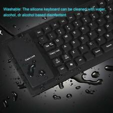 Portable USB Foldable Flexible Silicone Keyboard Roll Up For Laptop PC Notebook