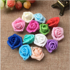 25Pcs - Foam Home Furnishing 7cm Artificial Rose Flower Handmade Wedding Decor