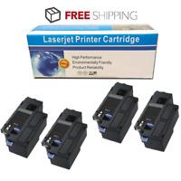 4 Pack Black Toner Cartridge for Dell E525w 525w E525 593-BBJX BBJU DPV4T H3M8P