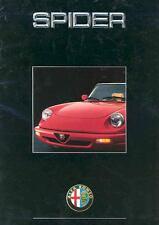 1990 1991 1992 1993 ? Alfa Romeo Spider Brochure German wf2696-K1OETO