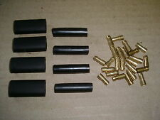 ELECTRICAL BRASS BULLETS & CONNECTORS FOR CLASSIC CAR BIKE ELECTRICS WIRING NEW