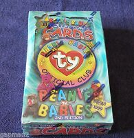 Ty Beanie Babies 1999 Sealed Box of Collector's Cards 2nd Edition Series III