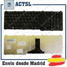 NEW TOSHIBA Satellite C650 C650D L650 L650D SPANISH SP KEYBOARD TECLADO BLack