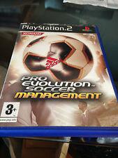 pro evolution soccer management  sur playstation 2