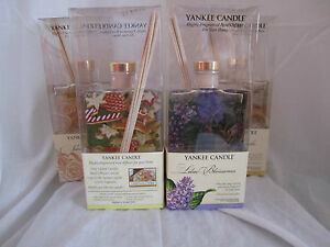 Yankee Candle Highly Fragranced Reed Diffuser For Your Home Hand Decorated Glass