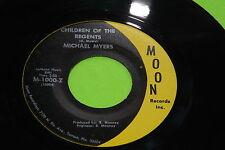 EX Rare Rock Pop 45 : Michael Myers ~ Knowing We're One ~ Moon 1000 - Z