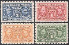 Panamá 1945 cáncer/médico/salud/bienestar/Marie Curie/ciencia 4v Set (n28425)