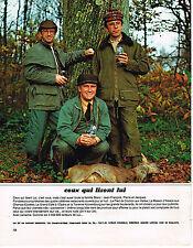 PUBLICITE ADVERTISING 054  1983  J.F PIERRE & JACQUES BLANC  LE PIED de COCHON