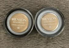 (LOT 2) Revlon Colorstay Creme Eye Shadow - 725 - Honey