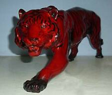 Early Large DOULTON FLAMBE Figure of a TIGER - HN1082 c.1950