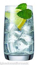 6x Bohemia Crystal Glasses Tumblers IDEAL 380ml Cocktail Highball