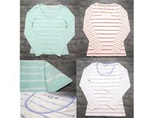 NEW Crew Clothing Company Womens Striped Long Sleeve T-shirt Top Size 6-14