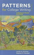 Patterns for College Writing : A Rhetorical Reader and Guide by Stephen R Mandel