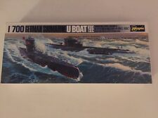 Hasegawa German Submarine U Boat VIIC IXC 1/700 Scale Model New