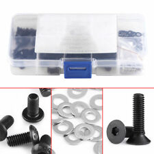 180pcs-Bolt-Screw-M3-M4-Flat-Washer-Assortment-Kit-for-1-10-HSP-RC-Car  180pcs-B
