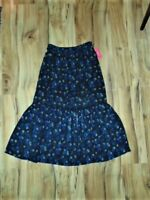 Women's Xhilaration Black Floral Maxi Skirt...Size:  Small  NWT