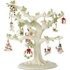 Lenox Winter Delights Miniature Tree & Ornaments Angel Train Sled Christmas NEW