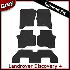 Landrover Discovery 4 (2009 2010 2011 ..) 7 Seater Tailored Fitted Car Mats GREY