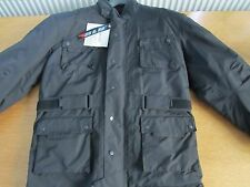 BLH JACKSON XL TEXTILE MOTORCYCLE JACKET NEW WITH TAGS EXTRA LARGE IN BLACK