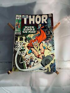 The Mighty Thor no. 180, 1970, bronze age, vintage, Loki, Marvel