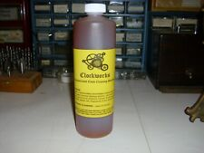 Concentrated Clock cleaning solution 9 to 1  water mix