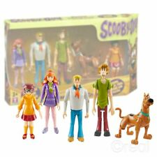 "Nouveau Scooby Doo Mystery Solving Crew 5"" Action Figure 5 Pack officiel"