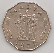 MALTA - 50 Cents 1972 Copper-nickel – 13.6 g – ø 32.95 mm