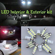 Premium Xenon White Lights SMD Interior LED Package Kit for Mazda CX-7 2007-2012