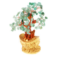 7'' Crystal Luck Yuan Bao Money Tree Feng Shui for Wealth &Luck Home Decor#2