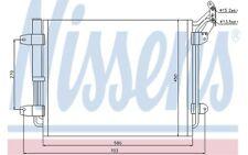 NISSENS Condensador, aire acondicionado OPEL SIGNUM VOLKSWAGEN TIGUAN 940138