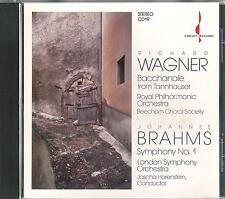 BRAHMS - Symphony No. 1, Horenstein, LSO; WAGNER, Beecham / 1988er CHESKY - CD !