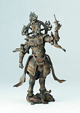Revoltech Takeya Takauki Buddhist Statue Collection Wooden Series Tamonten 001