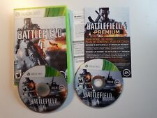 Battlefield 4 - Xbox 360 VideoGames BOTH TWO CD FREE SHIPPING FAST