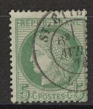 Frankreich , MiNr. 48 , gestempelt