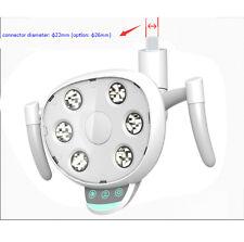 LED Dental lamp Oral Light Dental Chair Unit Removable Handle Hi-Light Intensity