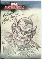 Marvel Masterpieces 2007 Sketch Card By Kerry Gammill