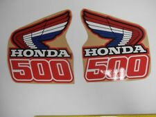 HONDA CR500 FUEL TANK DECALS GAS TANK GRAPHICS SET HONDA CR 500 STICKERS GLOSSY