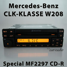 Original Mercedes Special MF2297 CD W208 Radio CLK Class C208 A208 Car Radio