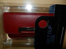 Original Samsung funda de cuero estuche correa clip galaxy s GT i9000 i9001 plus i9003