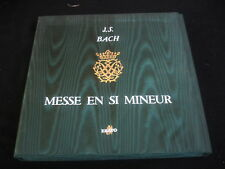 FRITZ WERNER/BACH/MESSE EN SI MINEUR/3XLP/EDITION LUXE NUMEROTE 279/ERATO FRENCH