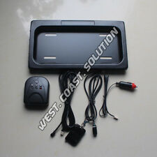 New Stealth Hidden Shutter Hide Away License Plate Frames With Remote Control