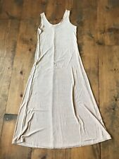 The White House Women's Dress-Size S-Stretchy-Tank-Tan Brown-Full Length-Maxi