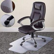 "36"" x 48"" Home Office Chair PVC Floor Mat Studded Back with Lip for Pile Carpet"