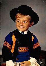 BT6787 Petit garcon en costume de Quimper folklore children enfant        France