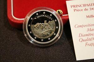 2 Euro Commémorative BELLE EPREUVE  Monaco 2015  - 800 Ans de la Forteresse
