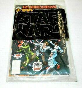 STAR WARS #4-6 IN ORIGINAL BAG 3 FOR .99 1977 COMIC BOOK LOT SEALED BAG
