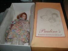 "Pauline Bjonness-Jacobsen Limited Edition 12"" Doll MIB 173/950 JANIE w/Teddy"