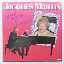 JACQUES MARTIN Chante pour sa maman 66221