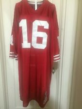 Authentic Joe Montana Throw Back Jersey 1989 Size 56